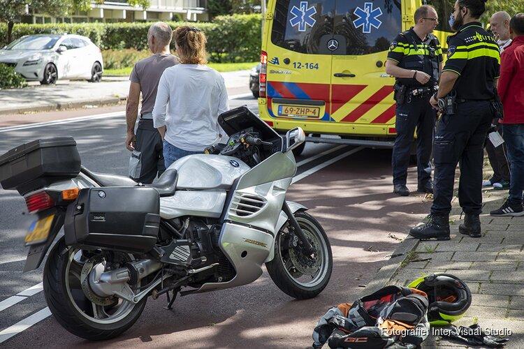 Motorrijder lichtgewond na ongeval Briandlaan Haarlem