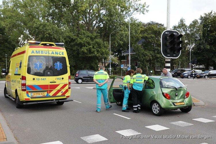 Kopstaartbotsing aan de wagenweg Haarlem