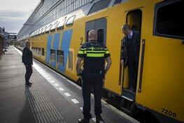 Veel stank door vastgelopen remmen trein spoor 8 Haarlem