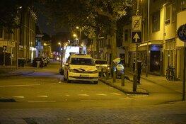 Fietsster lelijk ten val op het Frans Halsplein in Haarlem