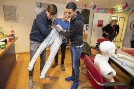 Studenten Nova College lopen warm voor detailhandel