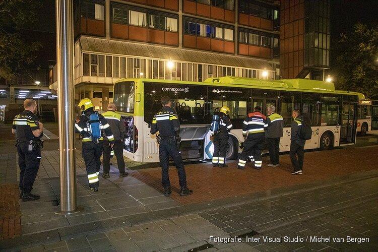 Passagiers uit bus gezet vanwege rookontwikkeling