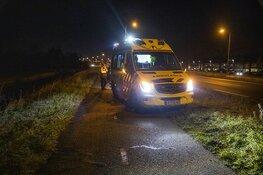 Fietsster gewond na botsing langs de Westelijke Randweg in Haarlem