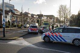 Fietsster geschept op de Kleverlaan in Haarlem