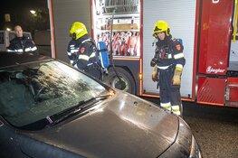Auto in de brand aan de Generaal Spoorlaan