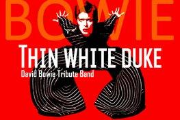 Bowie feestje in Patronaat met Thin White Duke