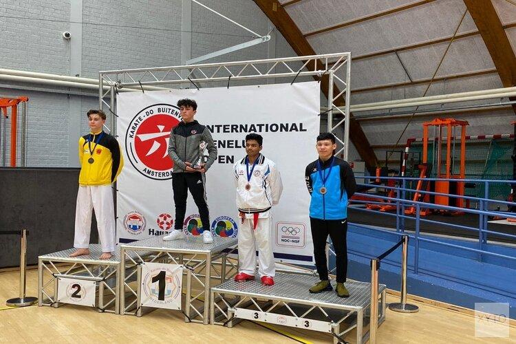 Kenamju karate behaald 15 prijzen tijdens Benelux Open 2020