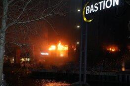Grote brand in Bastion hotel in Santpoort-Noord