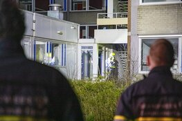 Weer brand in slooppand voormalig Boerhaave kliniek Haarlem