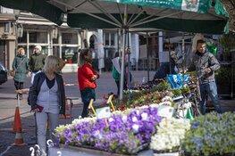 Zaterdagmarkt Haarlem deze week een stuk rustiger