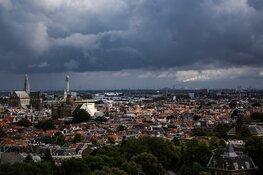 Haarlem vol met cirkels om te herinneren aan 1,5 meter afstand
