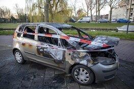 Weer autobrand in Haarlem, dit keer op de Zomerkade