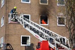Veel rook bij brand appartement Andorrastraat Haarlem