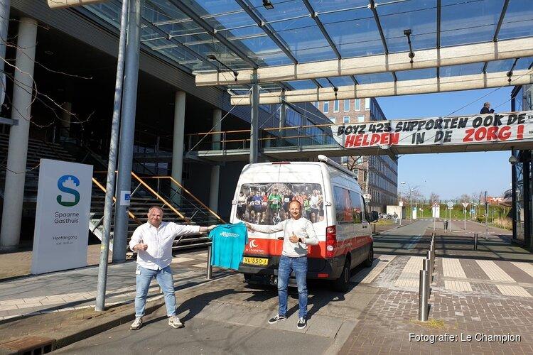 "Le Champion doneert ""runningshirts"" aan Spaarne Gasthuis"