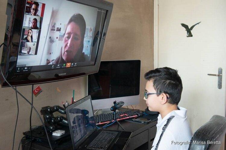 Kinderwijkraad Schalkwijk 'zoomt' gewoon door