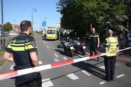 Bestuurder scootmobiel gewond na botsing met motor