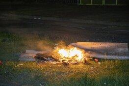 Weer brandstichting op parkeerterrein Planetenlaan