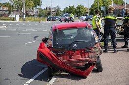 Kleverlaan dicht na ongeval op de Delftlaan