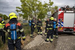 Brand in gebouw Schalkwijk snel onder controle