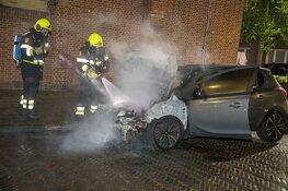 Auto uitgebrand aan de Pladellastraat in Haarlem