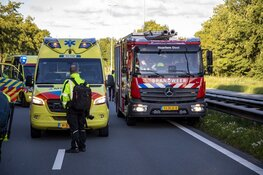 Meerdere gewonden bij ernstig ongeval op de N205 bij Vijfhuizen