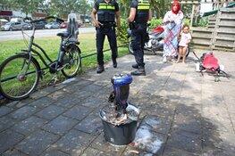 Oxboard vliegt spontaan in de brand bij spelende kinderen