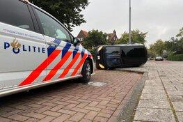 Maaltijdbezorger vliegt uit de bocht in Haarlem