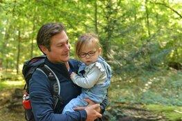 Heemstedenaar loopt Pieterpad voor zijn dochter met zeldzame aandoening