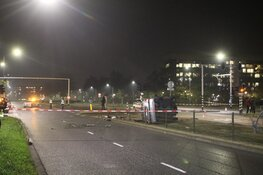 Gewonde bij flink ongeval Haarlem
