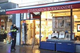 Boekenwinkel overvallen, politie zoekt getuigen