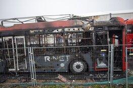 Ravage bij daglicht na verwoestende brand bij Connexxion